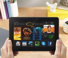 """Kindle Fire HDX 7: Kindle Fire HDX 7"""", HDX Display, Wi-Fi, 16 GB - Includes Special Offers (Previous Generation - 3rd)"""