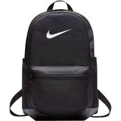 b7f705799 A Mochila Nike Brasilia Backpack possui dois compartimentos principais com  fechamento em zíper, alças acolchoadas
