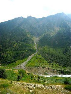 Greenish mountain Malamjaba Swat pakistan