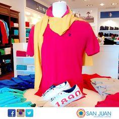 Para vestir bien elegante ven a la tienda Us Polo Assn en #sanjuanshoppingcenter #bavaro #puntacana #fashion