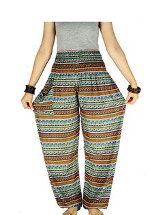 Original style from Thailand. Most comfortable wear, light weight, dry easily. Awesome for travel, holiday, relaxation, exercise, yoga and events in the home.  Size : Entir...