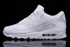 newest collection ec95d 582e1 Tenis Nike Airmax 90 Piel Hombre Mujer Blancos Envio Gratis