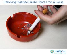 This guide is about removing cigarette smoke ordors from a house. The smell of cigarette smoke is strong, pervasive, and often lingers in a home.
