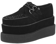 Double Stack Classic Black Creepers www.drstrange.com #tuk #creepers #shoes
