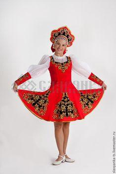 """Купить танцевальный костюм """"Задоринка"""" - русский стиль, русский сувенир, танцевальный костюм, танцевальная одежда"""