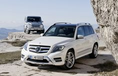 Mercedes-Benz ....... The one in the background is mine !!!