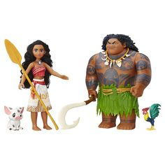 Moana of Oceania's friends join her on an action-packed voyage on the open ocean in Disney's Moana. This adventure pack features the spirited teenager Moana of Oceania Maui the demigod Hei Hei an . Moana Disney, Disney S, Disney Movies, Disney Time, Lego Disney Princess, Disney Dolls, Disney Princesses, Maui, Collection Disney