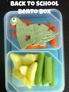 Cutie Booty Cakes: Bento Box Back to School Lunch