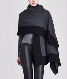 WHAT'S NEW :: New Arrivals :: REVERSIBLE QUINN WRAP IN CASHMERE