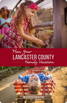 Stress-free family fun is possible with a trip to Lancaster County. Your next family vacation will be a breeze with our kid-tastic trip ideas including educational experiences, foodie fun and rainy day activities.