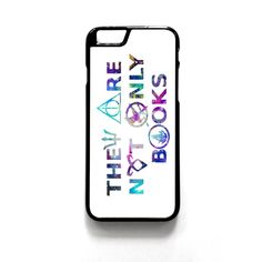 They Are Not Only Books Harry Potter The Hunger Games For Iphone 4/4S Iphone 5/5S/5C Iphone 6/6S/6S Plus/6 Plus Phone case ZG
