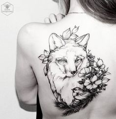 Diana Severinenko Fox Tattoo