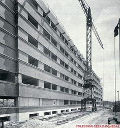 Construcción de la Facultad de Medicina