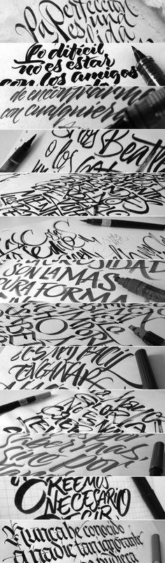 Coca-Cola Zero calligraphy 02 by Joluvian , via Behance