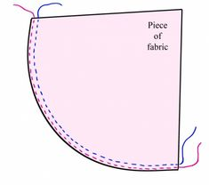 ★ How To Hem Curves Or Circles | Fabric Sewing Tutorials & Tips ★