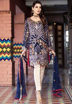 Vogue Clothing Studio - All you add is original Pakistani Lawn Suits, Pakistani Dress Design, Indian Suits, Shadi Dresses, Pakistani Dresses, Clothing Studio, Pakistani Street Style, Embroidery Suits, Party Wear Dresses