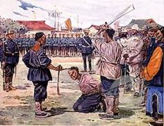 """The Boxer Rebellion in China did not end well, for either side. But then when you think about it, ..""""conflicts"""" of any description, ..never do."""