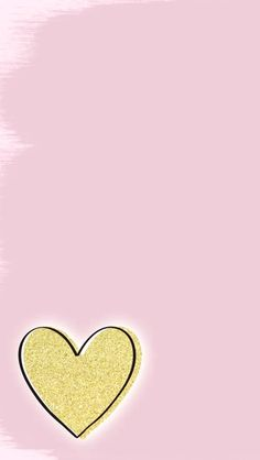 Gold and pink - iPhone wallpaper. Iphone 6 Wallpaper, Wallpaper For Your Phone, Heart Wallpaper, Pink Wallpaper, Screen Wallpaper, Cool Wallpaper, Glitter Wallpaper, Backgrounds Wallpapers, Cute Backgrounds
