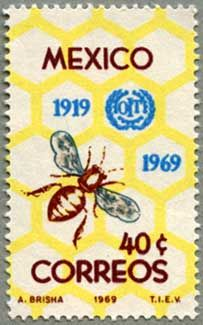Stamp MEXICO 1969