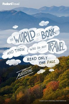 The world is a book to be read over and over again.