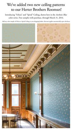 Enjoy the newest additions to our Herter Brothers Collection and take advantage of our complimentary sample offer! #BradburyWallpaper