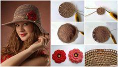 Merhaba hanımlar sizlere bugün son derece şık bayanlar için örgü şapka yapımı konusu getirdim. Resminden de anlaşılacağı üzere çok zarif bir şapka modeli.