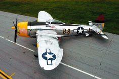 Republic Thunderbolt - The 10 Deadliest Planes of World War II Air Force Aircraft, Ww2 Aircraft, Fighter Aircraft, Military Aircraft, Fighter Jets, Military Weapons, Image Avion, P 47 Thunderbolt, Ww2 Planes