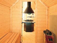pin von saskia van der lei auf tuinhuisjes veranda 39 s pinterest haus traumhaus und grillh tte. Black Bedroom Furniture Sets. Home Design Ideas