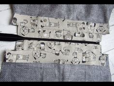 Cipzár varrás táskába - lépésről lépésre ... ahogy én csinálom - YouTube