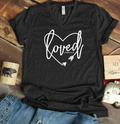Women s Loved Cute T-Shirt ZNF08