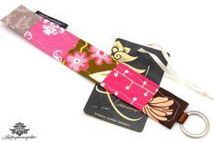 Geschenk für beste Freundin von #Lieblingsmanufaktur: Bunter Schlüsselanhänger