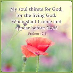 Psalms 42:2