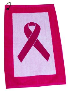 Check out our Pink Ribbon Devant Pink/White Edgeª Ladies Golf Towels! Find the best golf gear and accessories at Lori's Golf Shoppe. Click through now to see this Towels!
