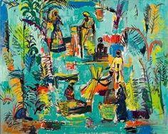 African Figures - Walter Battiss