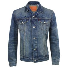 Levi's Men's Relaxed Fit Trucker Denim Jacket
