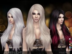The Sims Resource: Stealthic – Amber Lights • Sims 4 Downloads