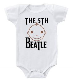 Funny Humor Custom Baby Bodysuits The Beatles The 5th Beatle #3     #BabyShowerIdeas     #Baby     #BabyShowerGift     #BabyShowerGifts     #babyshowercake     #ItsABoy     #ItsAGirl     #Cake     #Party     #BabyShowerFavors      #Shower     #Gift     #Pregnant     #Dadchelor     #Pregnancy     #BabyGifts     #BabyShowerGames     #GiftIdeas     #Etsy     #Gifts