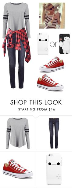 """casual"" by marilyng341 ❤ liked on Polyvore featuring Tory Burch and Converse"