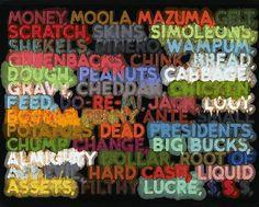 Money, 2006 - Mel Bochner