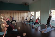 New Yoga Fusion class at Claremont Yoga.