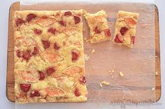 Apple and rhubarb slice, a quick, easy and delicious way to say thank you!