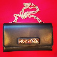 Well hello there little Valentino  #valentino #stud #clutch #shop #obsessed #fashion #accessories #missmasquerade