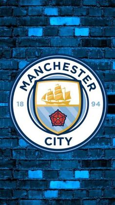 Man City in the house! Manchester City Logo, Manchester City Wallpaper, Manchester England, Best Football Players, Football Is Life, Fifa, Cristiano Ronaldo Wallpapers, Barcelona Football, Cool Wallpapers For Phones