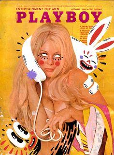 Hattie Stewart é o nome da moça que trata o mundo da cultra pop como seu playground pessoal. Seus trabalhos são uma piração só, além de impecáveis. Em sua última série Hattie trabalhou design e doodle nas capas vintage da revista Playboy. Esse foi o resultado:          (...)