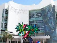 """Romero Britto's """"North Star"""" Sculpture on 5th & Alton (Miami, Florida). Learn more about Romero Britto and Florida (The Sunshine State) at: www.floridanest.com"""
