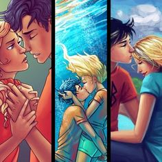 Percabeth. All i can say is that they better survive or else riordan has a riot on his hands.