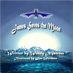 """Here within lies a tale of a young boy named James, which takes place in a far away island nation of Iceland.""  Travel along with James up the mountain, soaring through the air   with his magical friends he meets along the way to reach the moon."