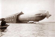 Parking Zeppelin