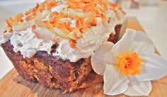 Coconut carrot loaf