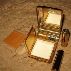 Vintage compact...everything you need for an evening out